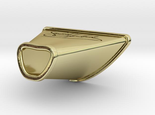 Necktie knot  in 18k Gold