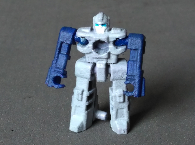 "MicroSlinger ""Mayhem"" in Blue Processed Versatile Plastic"