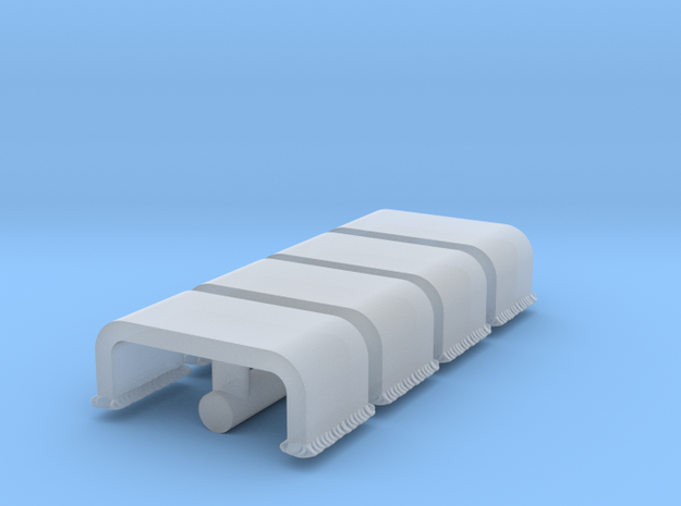 Panther A periscope covers 1:16 in Smooth Fine Detail Plastic