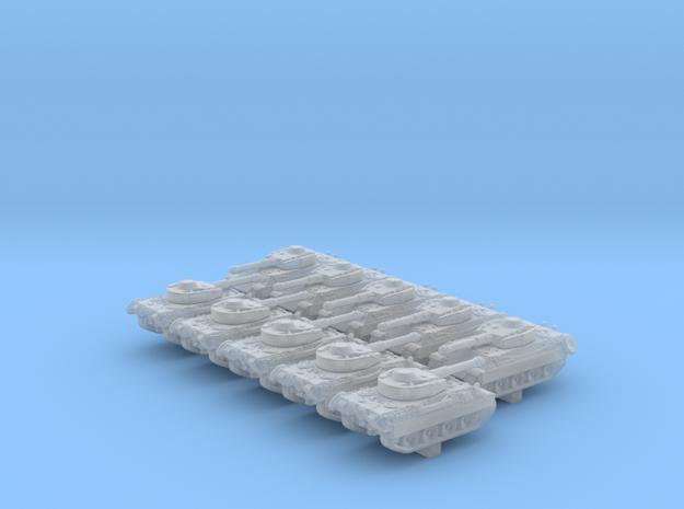1/600 Pz.Kpfw. V/IV Alpha Medium Tank x10 in Smoothest Fine Detail Plastic