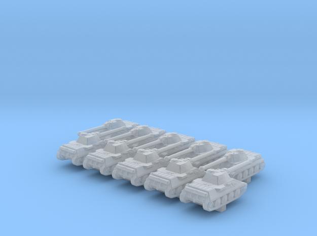 1/700 German VK 30.01 (D) Medium Tank x10 in Smoothest Fine Detail Plastic