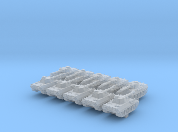 1/700 German VK 30.02 (M) Medium Tank x10 in Smoothest Fine Detail Plastic