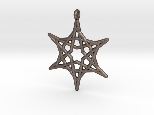 Hex Star Pendant