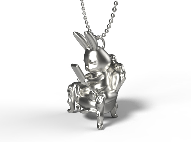 Phoneholic Rabbit In a Sofa pendant