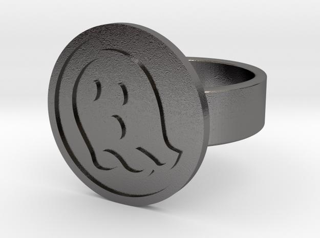 Ghost Ring in Polished Nickel Steel: 10 / 61.5