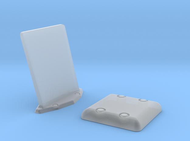 1.14 Combo Set EC GPS ANTENNE PLAT in Smoothest Fine Detail Plastic