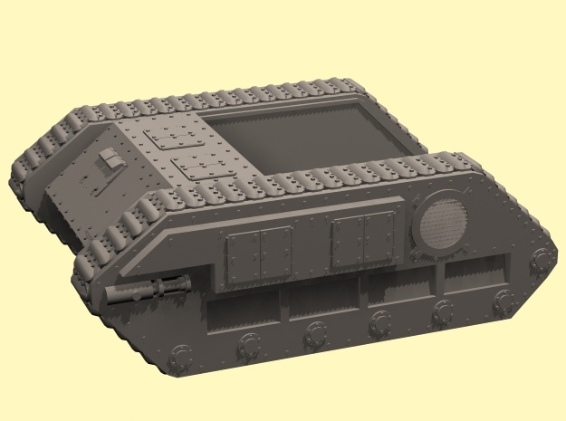 28mm Zerber tank chassis - downloadable