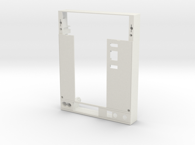 Withdrawable accessory Cover in White Strong & Flexible