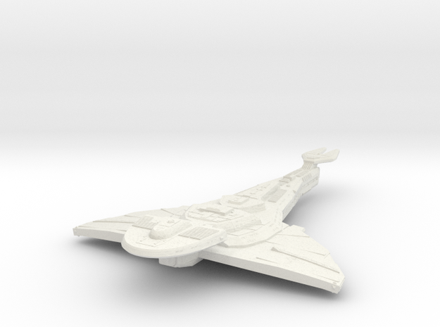 Galor Class Refit Cruiser in White Strong & Flexible