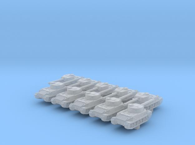 1/600 German Tiger (P) Heavy Tank x10 in Smoothest Fine Detail Plastic
