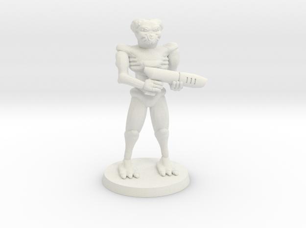 Cusaltreen Mercenary in White Natural Versatile Plastic