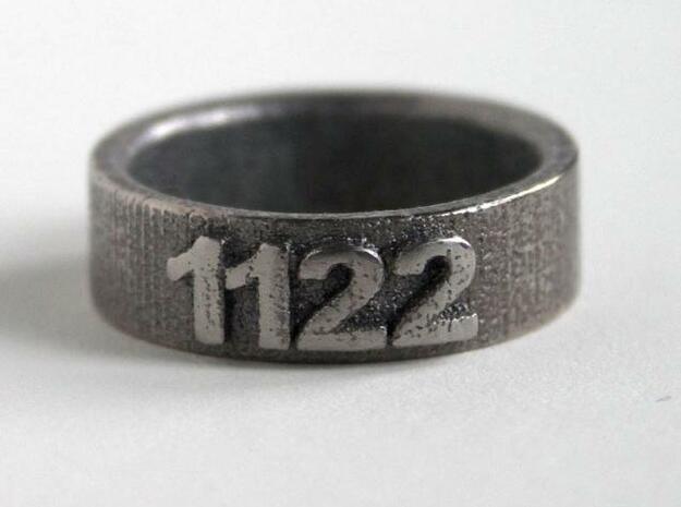Custom Ring 1122 3d printed Photo 1