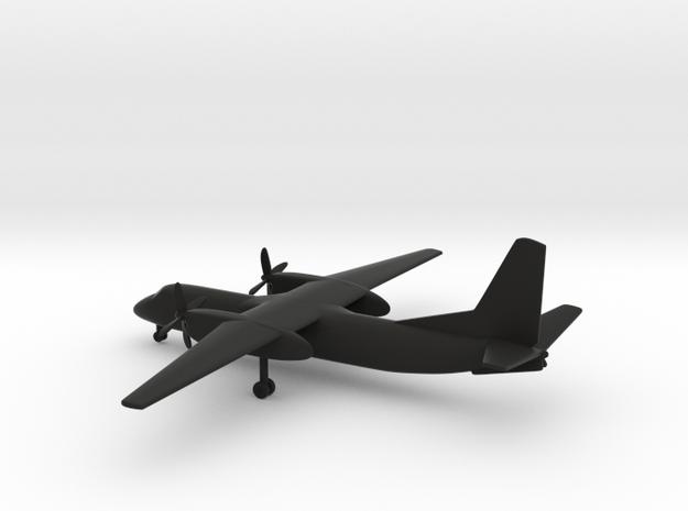 Xian MA600 Modern Ark in Black Natural Versatile Plastic: 6mm
