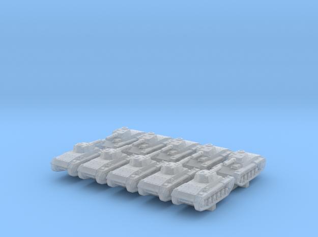 1/700 German VK 65.01 (H) Heavy Tank x10 in Smoothest Fine Detail Plastic