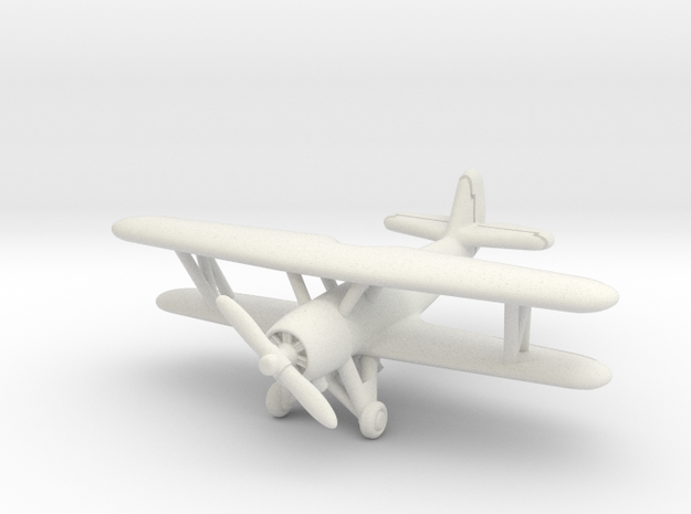 Vought SBU-1 Corsair 1/285 6mm in White Natural Versatile Plastic