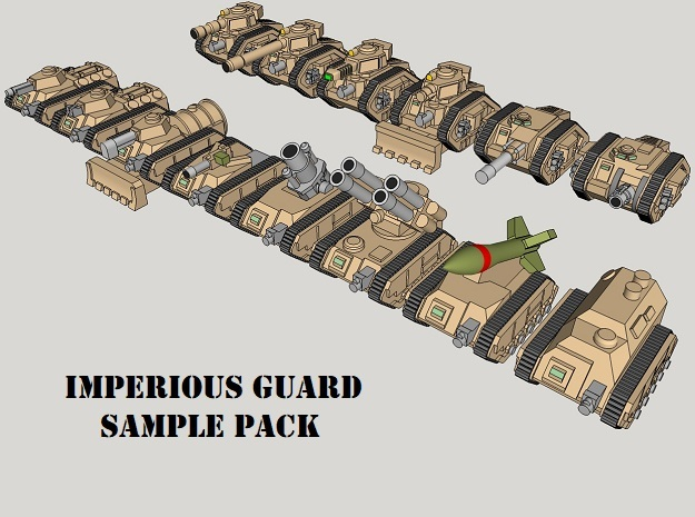 3mm Imperious Guard Sampler (14pcs)