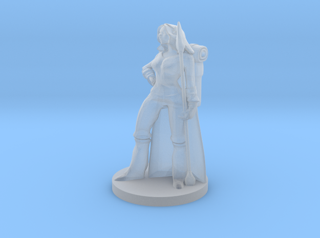 Forest Guardian Female in Smooth Fine Detail Plastic