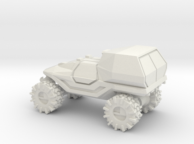 All-Terrain Vehicle with enclosed cargo area