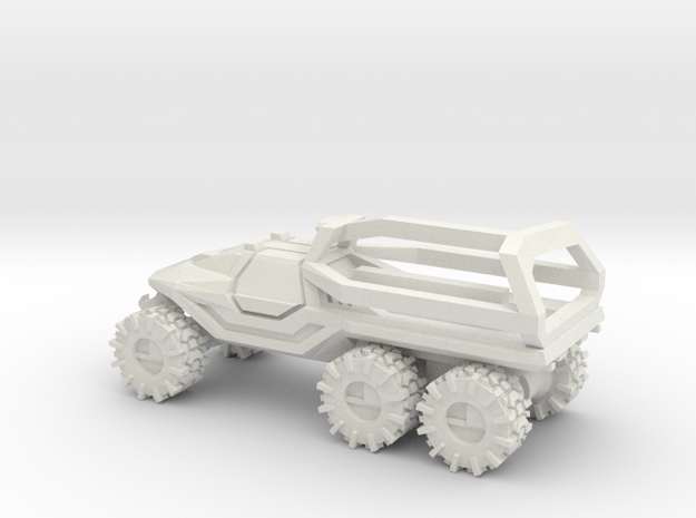 All-Terrain Vehicle 6x6 closed cab with Roll Over
