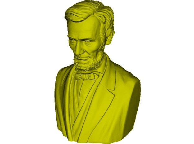 1/9 scale Abraham Lincoln bust