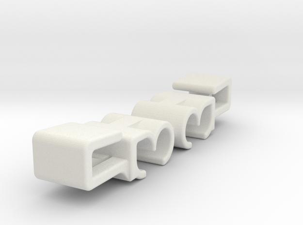 Lancia Wischwasserklemmstück Wiper Clip 2