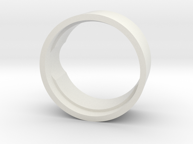 24mm to 20mm Speaker Reducer (UWDooku) in White Strong & Flexible