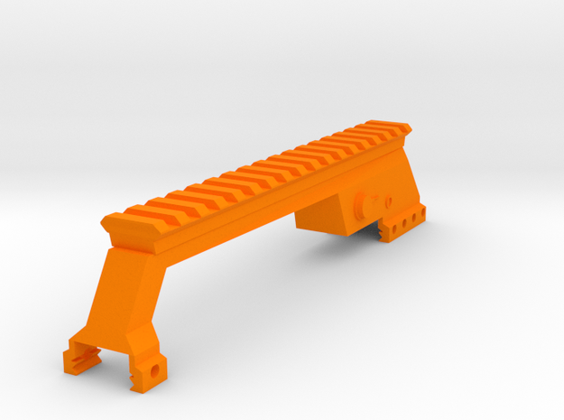 Sydex Picatinny Riser in Orange Processed Versatile Plastic