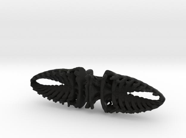 Bowtie Beetle in Black Strong & Flexible