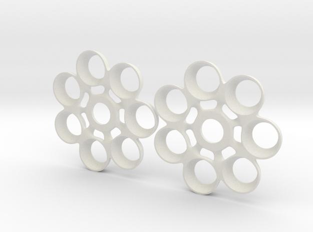 TrekrTurboSpin1 in White Strong & Flexible