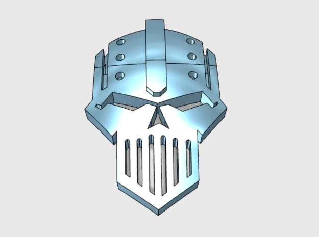 60x Iron Legion : Shoulder Insignia pack in Frosted Extreme Detail