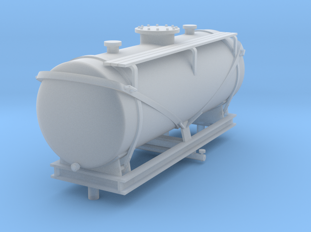 Nitro Nobel tank wagon in Frosted Ultra Detail: 1:45