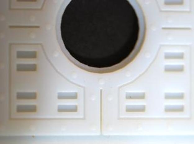 Floor Tile Manhole w/Cover 3d printed Detail of the Panel