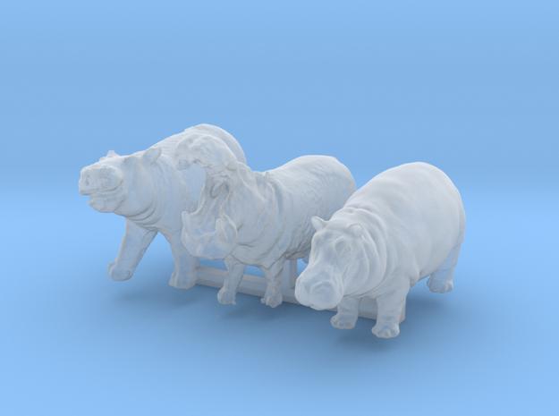 1:120 hippo set of 3