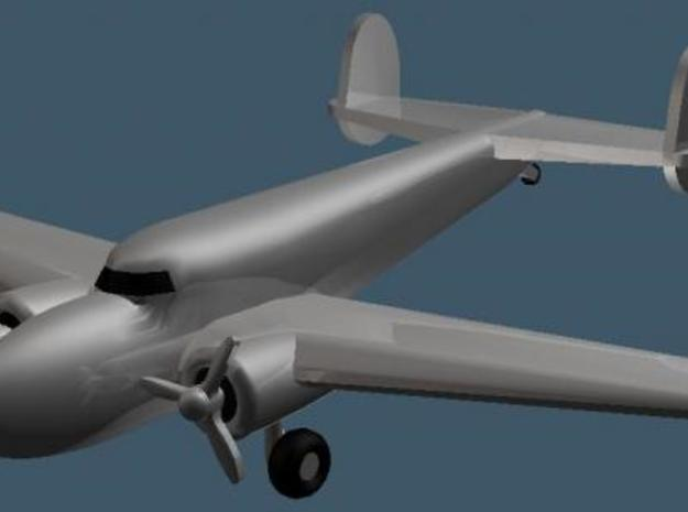 Lockheed 14 - Zscale in Smooth Fine Detail Plastic