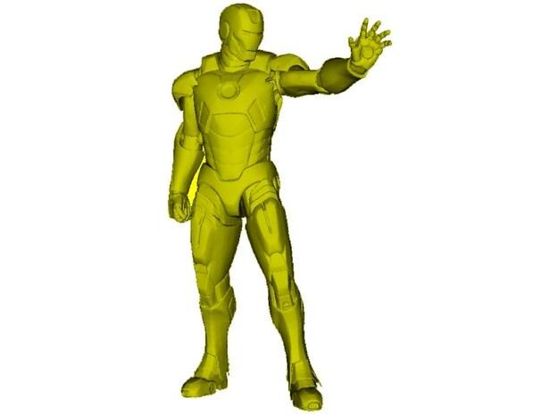 1/15 scale Iron Man superhero figure