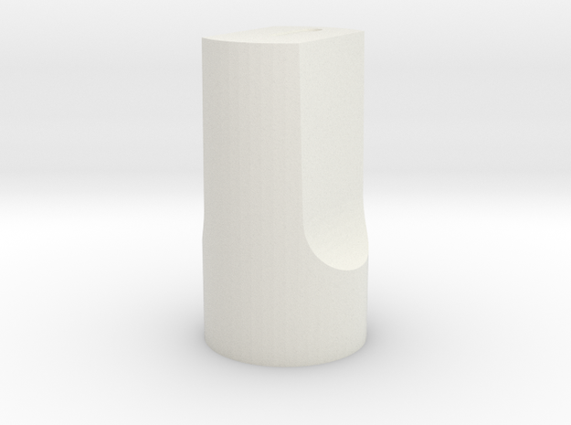 Vol Control ARC 186 in White Natural Versatile Plastic