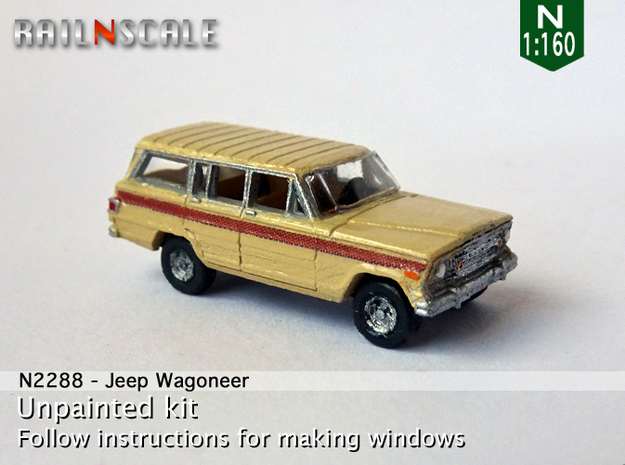 Jeep Wagoneer (N 1:160) in Frosted Ultra Detail