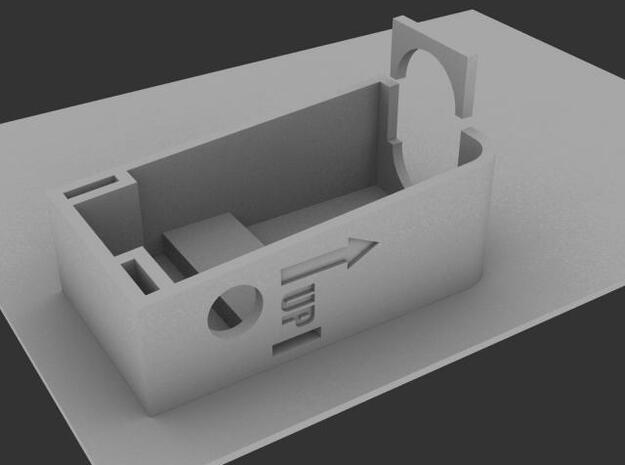 SL1206R_Housing 3d printed Render