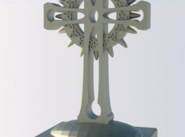 Celtic Cross 3d printed Rendered view 1