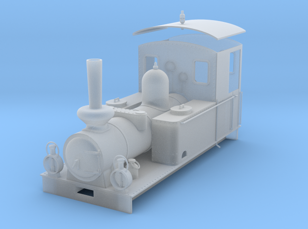 Munkedal loco  in Frosted Ultra Detail: 1:45