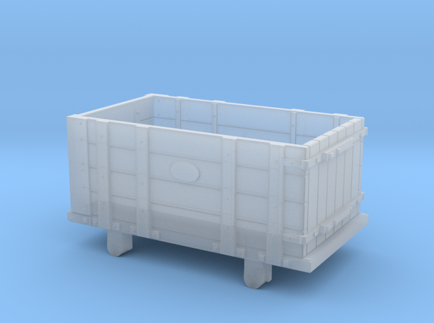 FR Four Plank Wagon Outside Framed 4mm Scale in Smooth Fine Detail Plastic