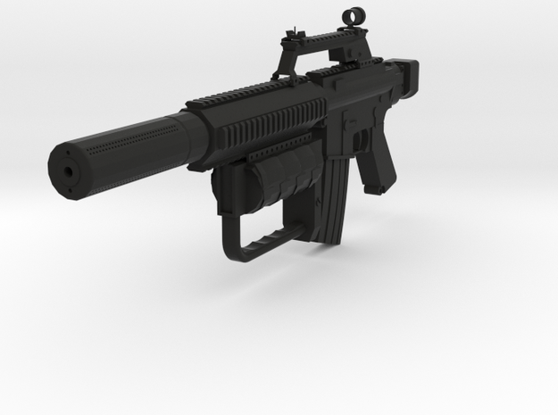 Sydex M4 SMG in Black Natural Versatile Plastic