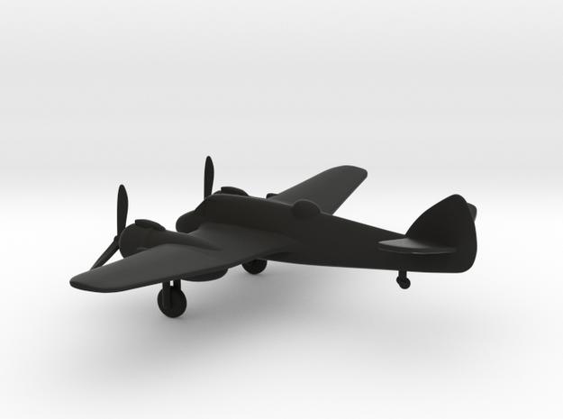 Bristol Type 156 Beaufighter in Black Natural Versatile Plastic: 1:144