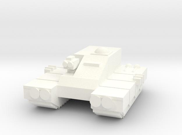 6mm - Apc in White Processed Versatile Plastic