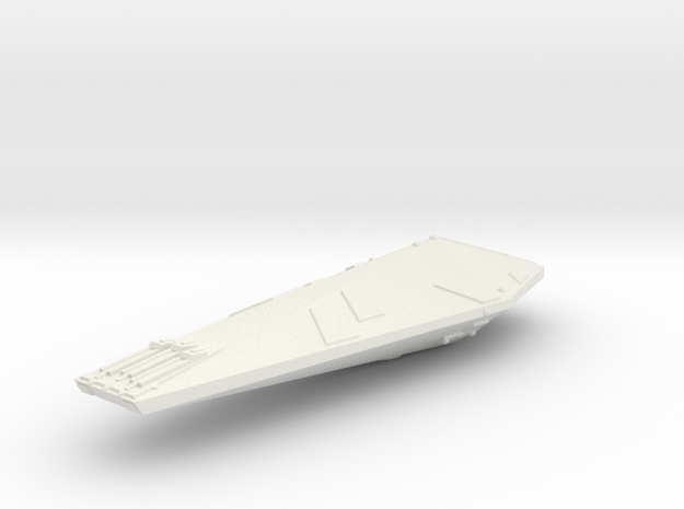 3788 Scale Hydran Lancer Destroyer GLP in White Strong & Flexible
