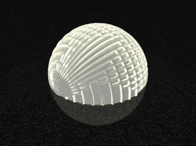 Intersections Tea-light Cover 3d printed