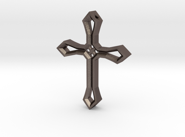 Cross Pendant in Stainless Steel