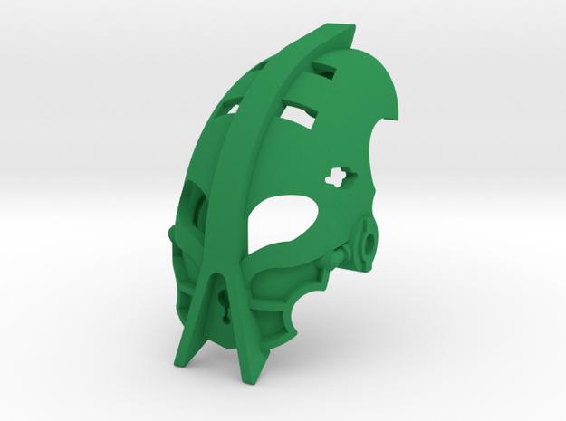Kanohi Kaai in Green Processed Versatile Plastic