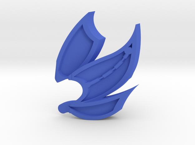 Kaai Extension in Blue Processed Versatile Plastic