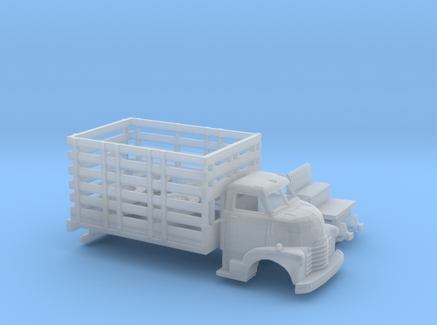 1/160 1949 Chevy COE High Stakebed Kit in Smooth Fine Detail Plastic